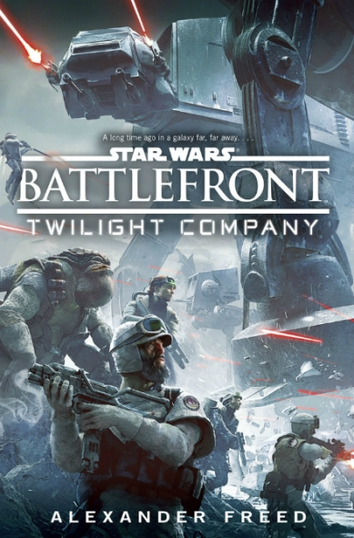 naslovnica knjige star wars battlefront twilight company