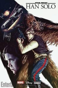 Han Solo comic cover