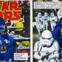 Star Wars stripovi u Ex-Yu strip revijama
