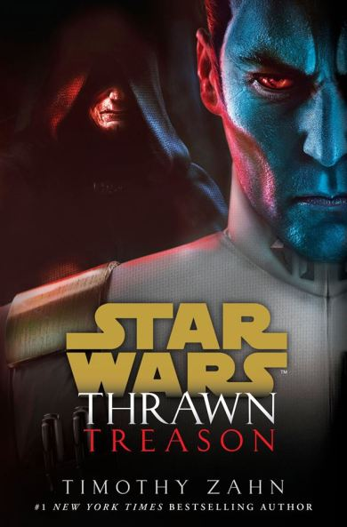 naslovnica knjige star wars thrawn treason