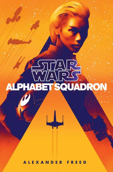 naslovnica knjige Star Wars Alphabet Squadron