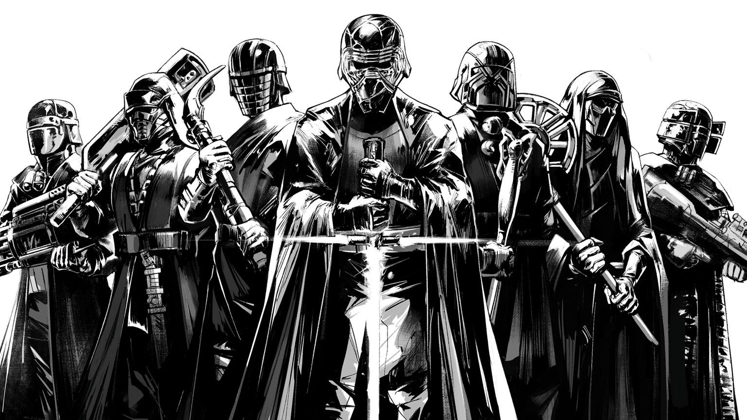 star wars kajlo ren i vitezovi rena naslovnica stripa