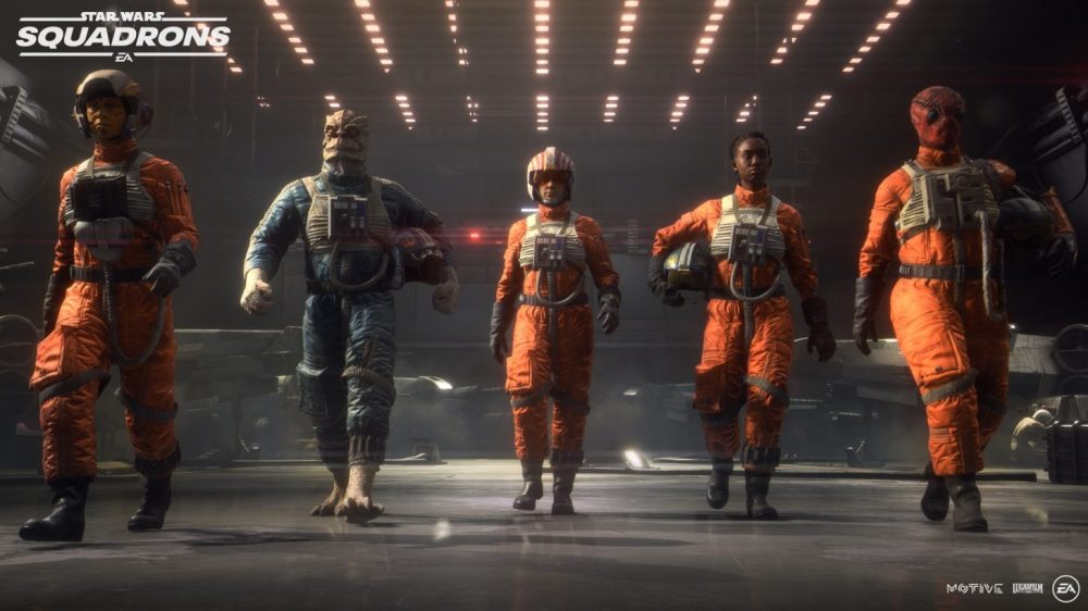Star Wars Squadron Pilots 2